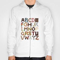 Candy Alphabet Hoody