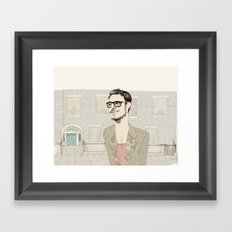 I´m hipster  Framed Art Print