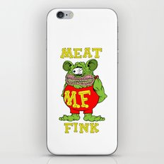 Meat Fink iPhone & iPod Skin