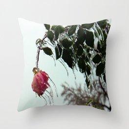 fROSEn Throw Pillow