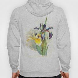 Vintage Irises Hoody
