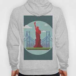 Statue in the scope Hoody
