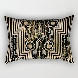 Art Nouveau Metallic design Rectangular Pillow