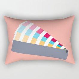 #28 Pantone Swatches Rectangular Pillow