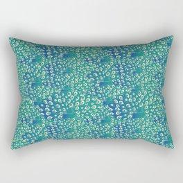 peacocks galore Rectangular Pillow