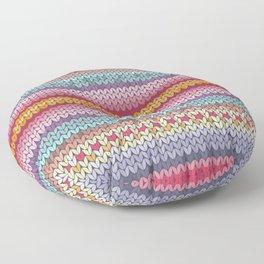 knitting pattern Floor Pillow