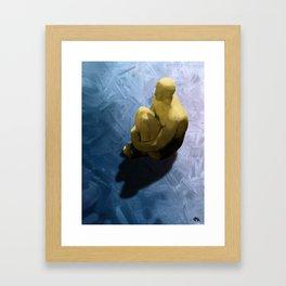 On Thin Ice Framed Art Print