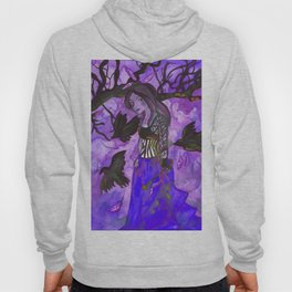 Raven Witch - Dark Violet Hoody