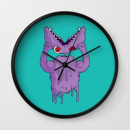 Monster Facelift Wall Clock