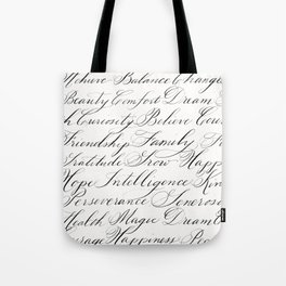 Inspirational Words II Tote Bag