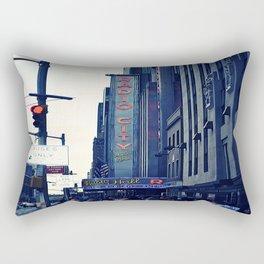 Radio City Rectangular Pillow