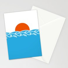 Japanese Tsunami  Stationery Cards
