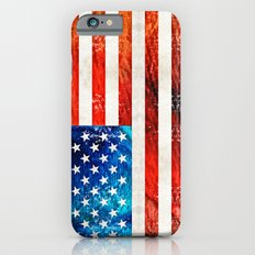 American Flag Art - Old Glory - By Sharon Cummings Slim Case iPhone 6