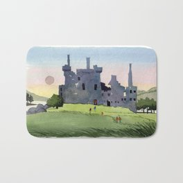 Kilchurn Castle, Scottish Highlands Bath Mat