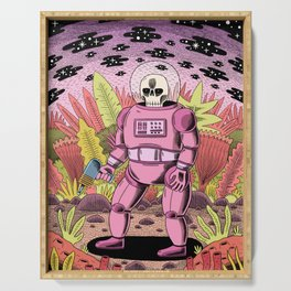 The Dead Spaceman Serving Tray