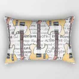 Music for the Soul & Spirit - Off-White Series Rectangular Pillow