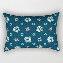 Seamless abstract floral pattern Rectangular Pillow