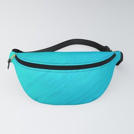 Turquoise Marble River Fanny Pack