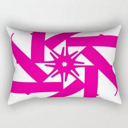 Bodoni Star Rectangular Pillow