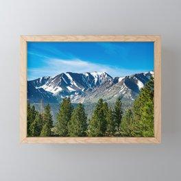 Mammoth Lakes Area, California Framed Mini Art Print