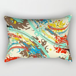 Pandemonium: III Rectangular Pillow