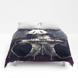bear drummer Comforters