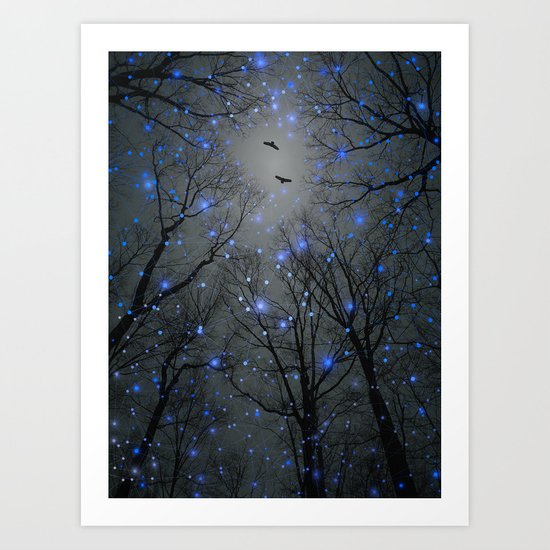 The Sight of the Stars Makes Me Dream Art Print