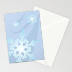Winter Flakes Stationery Cards