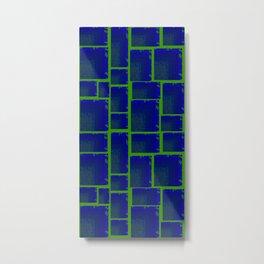 Vibrant Tetris Metal Print