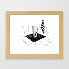 "Inktober, Day 21 ""Drain"" #inktober #inktober2018 Framed Art Print"