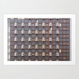 Surface Tension: West Glasgow Hospital Art Print