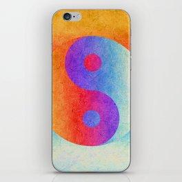 Yin and Yang II iPhone Skin