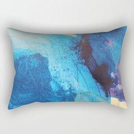 Waves Came Crashing Rectangular Pillow