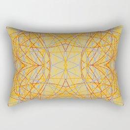 Colorful Crazy Stripes Enko Rectangular Pillow