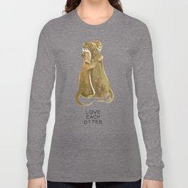 Love each otter Long Sleeve T-shirt