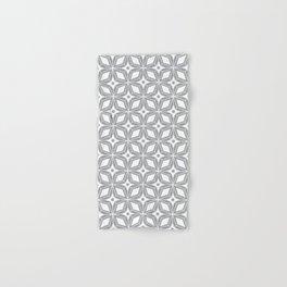 Starburst - Grey Hand & Bath Towel