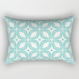 Starburst - Aqua Rectangular Pillow