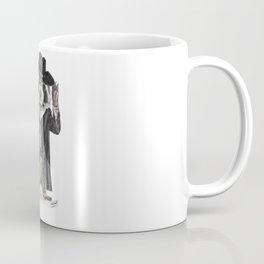 """"""" Raccoon Bandit """" funny western raccoon Coffee Mug"""