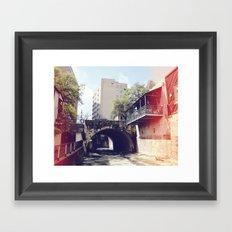 Water Flows! Framed Art Print