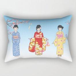 Kimono Basics Rectangular Pillow