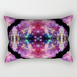 Cosmic Kaleidoscope Rectangular Pillow