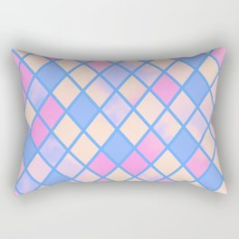 .BlueDiamonds. Rectangular Pillow
