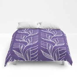 Ultraviolet Pattern #society6 #pattern #ultraviolet Comforters