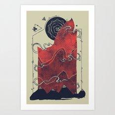 Northern Nightsky Art Print