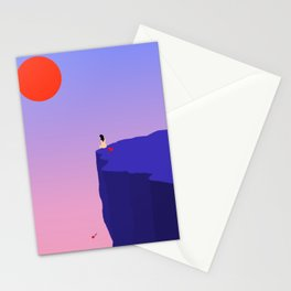 Cliff//Rose Stationery Cards