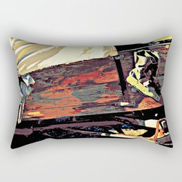miles in these shoes Rectangular Pillow