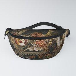 Baroque Venetian Halloween Fanny Pack