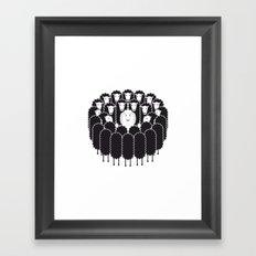 Being the White Sheep Framed Art Print