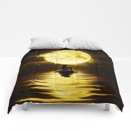 Beauty Mermaid Starry Night Comforters