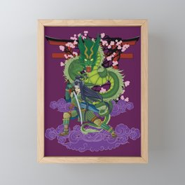 Yimei guardian of dreams Framed Mini Art Print